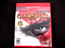 God of War III (Sony PlayStation 3, 2010) PS3 *** BRAND NEW, FACTORY SEALED ***