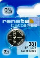 381 RENATA SR1120S WATCH BATTERY New packaging Authorized Seller
