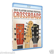 CROSSROADS ERIC CLAPTON GUITAR FESTIVAL 2013 BLU-RAY - AUTHENTIC US RELEASE
