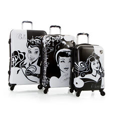Disney Hardside Princess Expandable Spinner 3 PCS Luggage Set Cinderella Belle