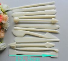 12X Cake Modelling Tools Set Fondant Clay Cutter Cake Mold Mould Kitchen Tool