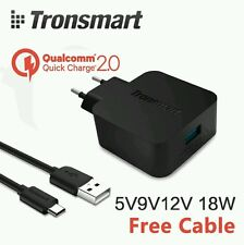Tronsmart  USB Wall Charger: Qualcomm Quick Rapid Fast Charge 2.0