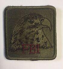 FBI Federal Bureau of Investigation Square Cloth Patch