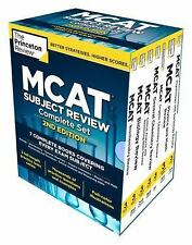 Princeton Review MCAT Subject Review Complete Box Set, 2nd Edition: 7 Complete B