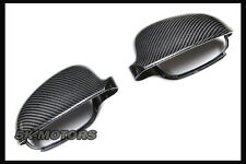 REPLACEMENT FULL CARBON SIDE MIRROR COVER FOR VW GOLF 5 MK5 VKV GTI R32 TDI ED30