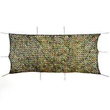 Woodland Camouflage Camo Net Netting Cover Blinds Camping Military Hunting