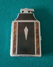Vintage 1950's RONSON MASTERCASE Lighter Cigarette Case w/ Felt Pouch