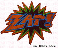 Zap iron sew on patch comic novelty batman embroidered badge applique  # 052