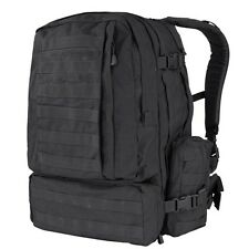 Condor 125 BLACK MOLLE 3 Day Mission Assault Patrol Pack Hiking Backpack