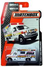 2015 Matchbox #75 MBX Heroic Rescue Ford F-350 Ambulance
