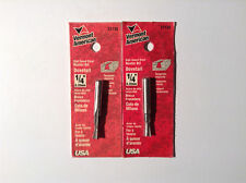 """Vermont American 22130 High Speed Steel, 1/4"""" Dovetail Router Bit (2 Pack)"""