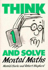 Think and Solve Level 1: Mental Maths,ACCEPTABLE Book
