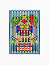 House Of Love~Beaded Banner Pattern