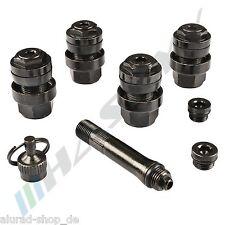 OptiVent Vannes caché & Invisible 11,3mm NOIR Soupape en métal Certification TÜV