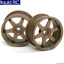HPI Racing 3848 TE37 Wheel 26mm Bronze 6mm Offset (2)