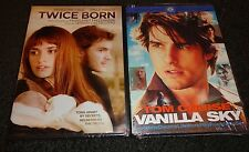 TWICE BORN & VANILLA SKY-2 movies-PENELOPE CRUZ, EMILE HIRSCH, TOM CRUISE,C DIAZ
