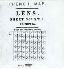 TRENCH MAP OF MARICOURT