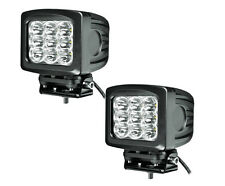 "5 X 6"" 90W CREE LED Work Light Spot CUBE POD Square 4WD Jeep JK JKU TJ YJ (Pair)"