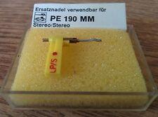 Discos Zafiro-aguja para Perpetuum ebner pe-190 mm turntable stylus Needle