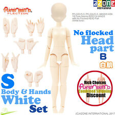 AZONE Pure Neemo FLECTION 1/6 S White Body B Hands & Head parts set Doll NEW