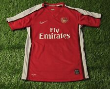 ARSENAL LONDON ENGLAND 2006-2008 FOOTBALL SHIRT JERSEY HOME NIKE ORIGINAL