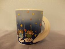 """Rare limited Rosenthal Studio Line collection mug angels with stars """"Hit Family"""""""