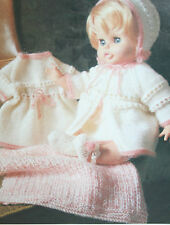 Dolls Clothes Knitting Pattern