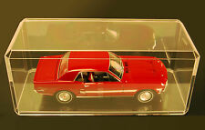 Acrylic Display Cases  (16) 1:18 Scale Model Car Truck Dolls Bobblehead 355-C-16