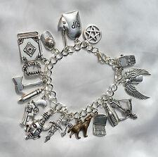Handmade Dean/ Sam Winchester 'Supernatural' Inspired Amulet Charm Bracelet