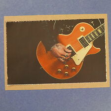 POP-CARD feat. TRACII GUNS LES PAUL , 11x15cm greeting card aaw