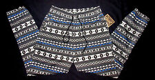 MENS BEAUTIFUL GIANT TRIBAL PRINT JOGGER SWEAT PANTS SIZE L