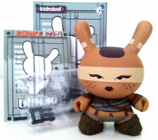 "DUNNY 3"" POST APOCALYPSE HUCK GEE ROAD WARRIOR CHICK 2013 KIDROBOT VINYL FIGURE"