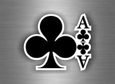 Sticker decals auto moto motorcycle tuning tribal jdm bomb ace of clubs  r1