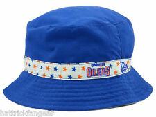 EDMONTON OILERS NEW ERA REVERSIBLE YOUTH NHL HOCKEY TODDLER BUCKET STYLE HAT/CAP