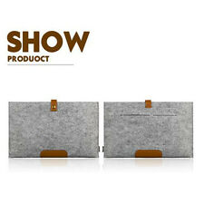 """Wool Felt Sleeve Pouch Bag Case Cover for MacBook Pro 13/15"""" 2016 with Touch Bar"""