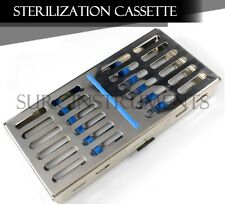 Sterilization Tray Sterile Dental Orthodontic Instruments Box Cassette 7 x 3.5""