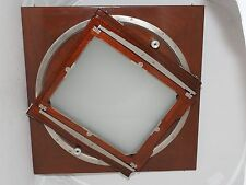 Deardorff wood 11x14 to 8x10 inch rotating back with 8x10 ground glass. RARE !