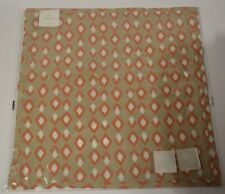 "POTTERY BARN SITA DIAMOND PILLOW COVER 18"" #70"