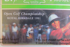 UNUSED BT PHONECARD-1991 OPEN GOLF CHAMPIONSHIP-ROYAL BIRKDALE