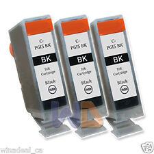 3 BLACK PGI-5 PGI-5BK Canon PGI5 Ink Cartridge for Canon MX700 MP520 IX4000