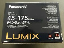 Panasonic LUMIX G X VARIO PZ 45-175mm/F4.0-5.6 ASPH./ POWER O.I.S. H-PS45175-S