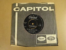 45T SINGLE CAPITOL CL 15454 / NAT KING COLE - FOR THE WANT OF A KISS