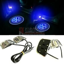 VW Volkswagen 2x LED Logo Door Light Courtesy Laser Projector Shadow Puddle Lamp