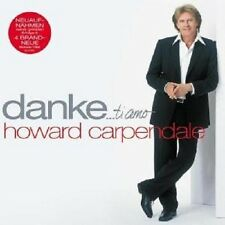 "HOWARD CARPENDALE ""DANKE...TI AMO"" 2 CD NEUWARE"