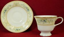WEDGWOOD china AGINCOURT IVORY R4520 pattern CUP & SAUCER Set
