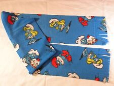 Smurfs with Cakes Fleece Scarf