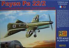 Payen Pa 22/2, 1:72, Plastikbausatz, RS-Models, NEU, Luftwaffe, Frankreich