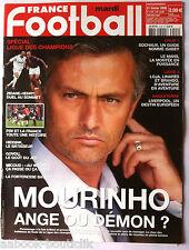 FRANCE FOOTBALL 21/2/2006; Spécial Ligue des champions/ Mourinho/ Govou/ Micoud