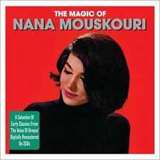 Nana Mouskouri THE MAGIC OF Best Of 50 Songs ESSENTIAL Voice Of Greece NEW 2 CD