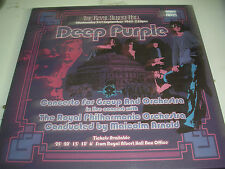 Deep Purple - Concerto For Group and Orchestra  3 x LP box set new Parlophone